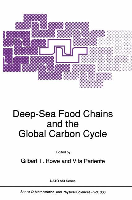 Cover of 'Deep-Sea Food Chains and the Global Carbon Cycle'
