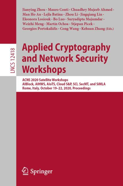 Cover of 'Applied Cryptography and Network Security Workshops'