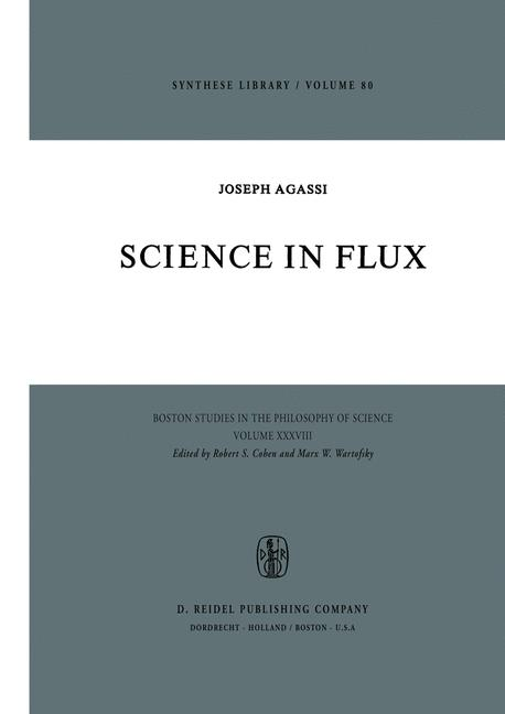 Cover of 'Science in flux'