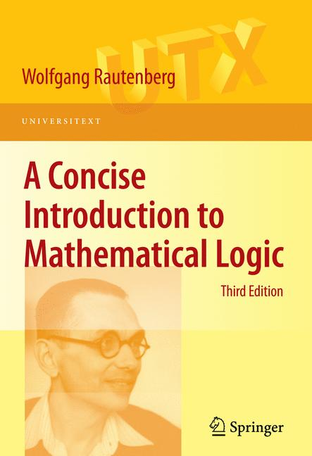 Cover of 'A Concise Introduction to Mathematical Logic'