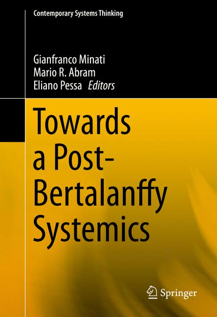 Cover of 'Towards a Post-Bertalanffy Systemics'
