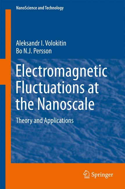 Cover of 'Electromagnetic Fluctuations at the Nanoscale'