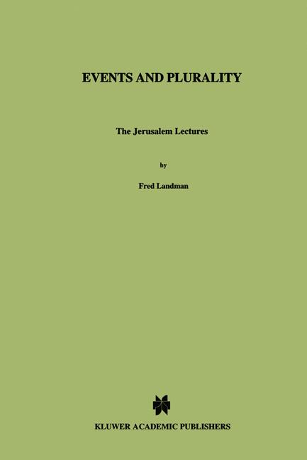 Cover of 'Events and Plurality'