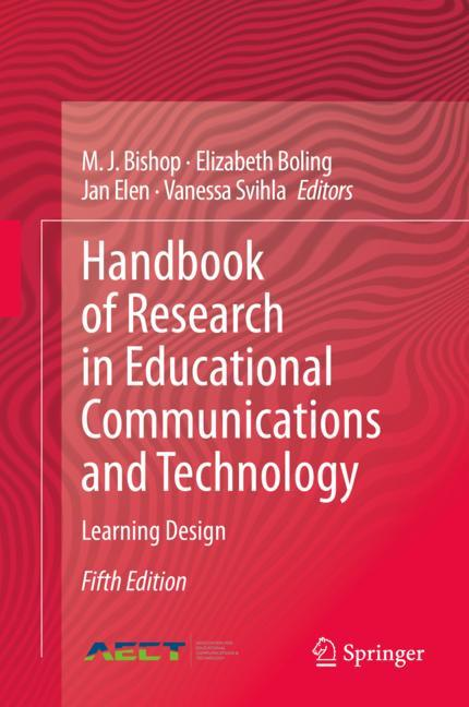 Cover of 'Handbook of Research in Educational Communications and Technology'