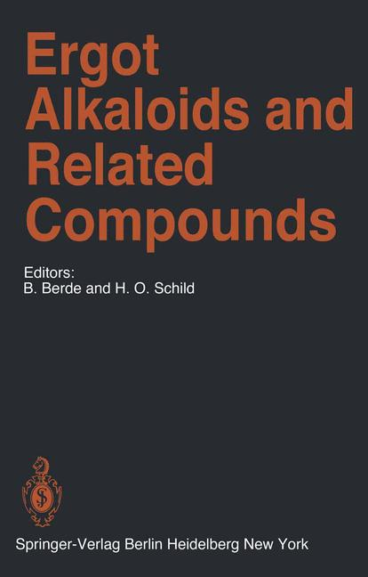 Cover of 'Ergot Alkaloids and Related Compounds'