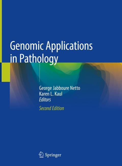 Cover of 'Genomic Applications in Pathology'