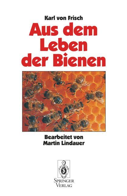 Cover of 'Aus Dem Leben der Bienen'