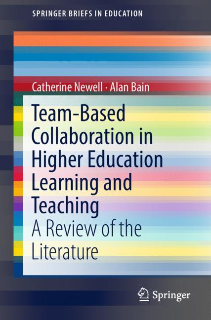 Cover of 'Team-Based Collaboration in Higher Education Learning and Teaching'