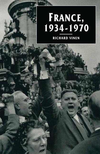 Cover of 'France, 1934–1970'