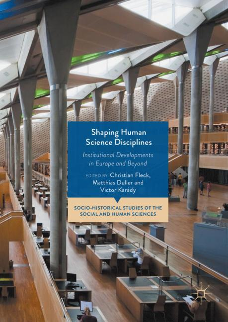 Cover of 'Shaping Human Science Disciplines'