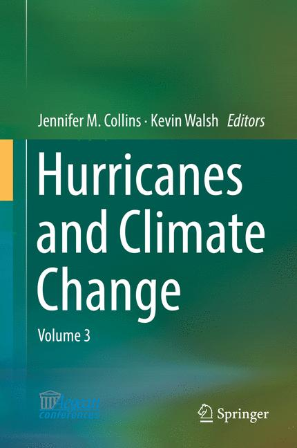 Cover of 'Hurricanes and Climate Change'