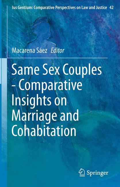 Cover of 'Same Sex Couples - Comparative Insights on Marriage and Cohabitation'