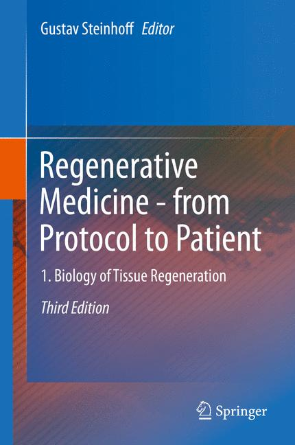 Cover of 'Regenerative Medicine - from Protocol to Patient'