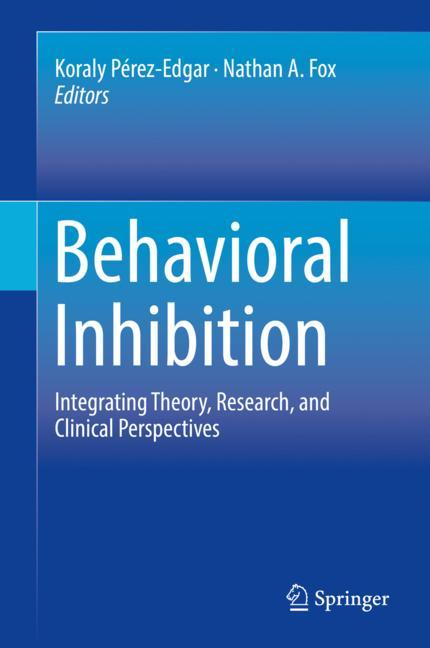Cover of 'Behavioral Inhibition'