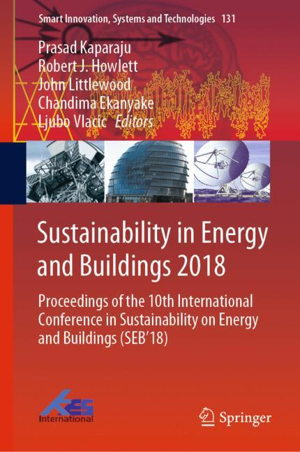 Cover of 'Sustainability in Energy and Buildings 2018'