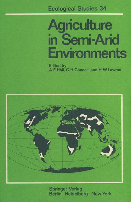 Cover of 'Agriculture in Semi-Arid Environments'