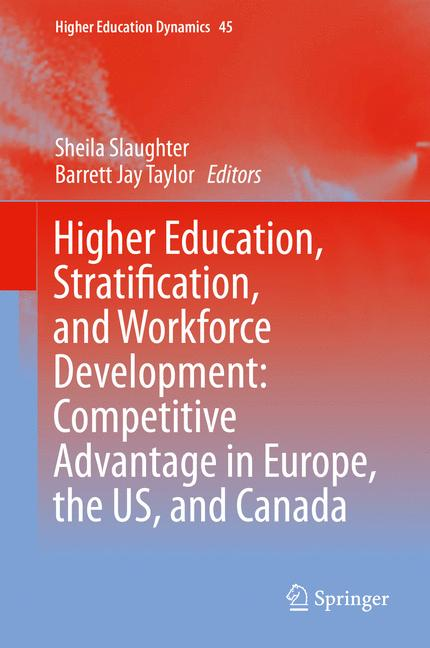 Cover of 'Higher Education, Stratification, and Workforce Development'