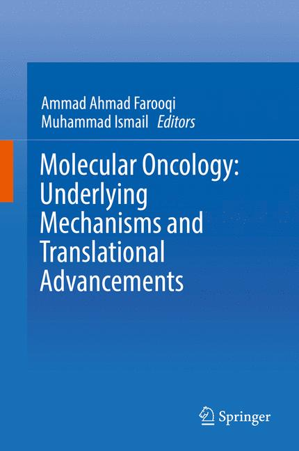 Cover of 'Molecular Oncology: Underlying Mechanisms and Translational Advancements'