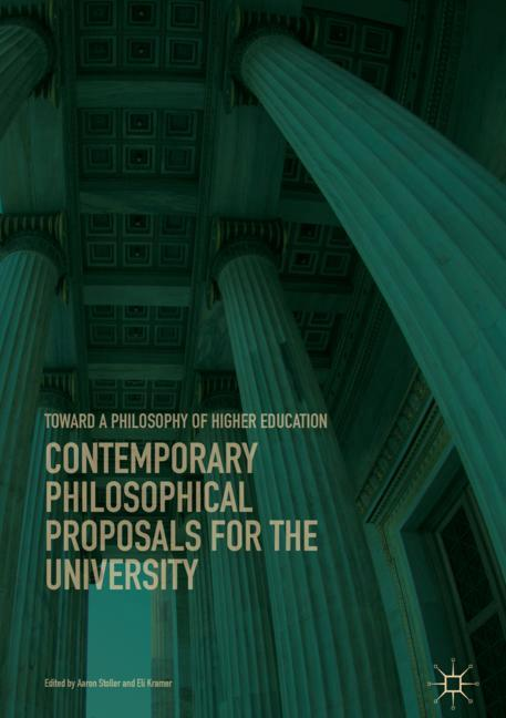 Cover of 'Contemporary Philosophical Proposals for the University'