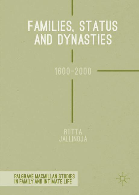 Cover of 'Families, Status and Dynasties'