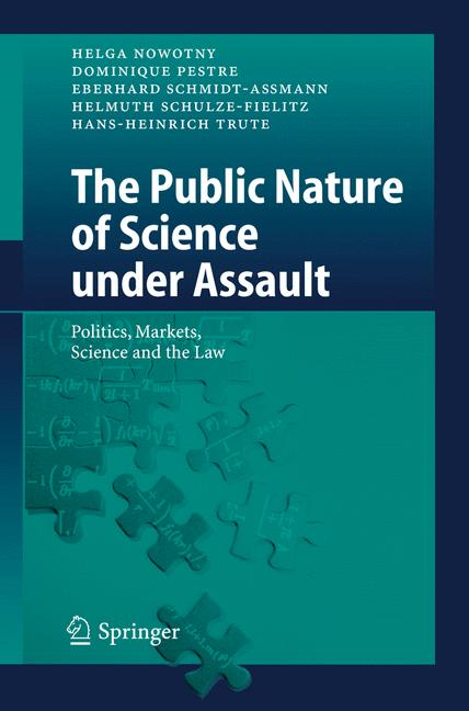 Cover of 'The Public Nature of Science under Assault'