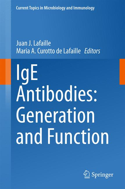 Cover of 'IgE Antibodies: Generation and Function'