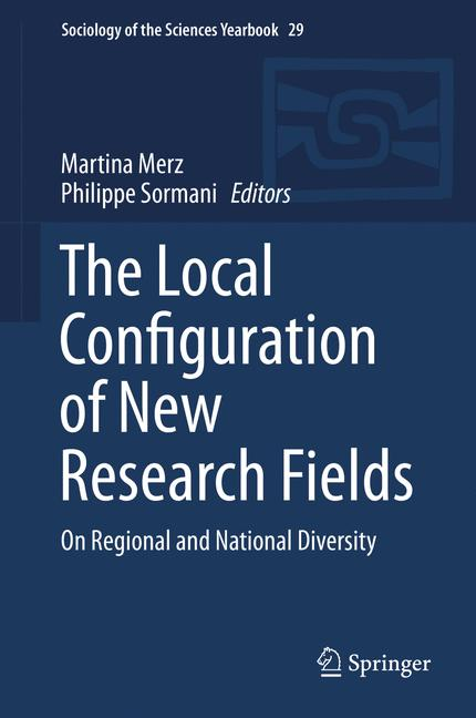 Cover of 'The Local Configuration of New Research Fields'