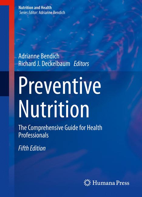 Cover of 'Preventive Nutrition'