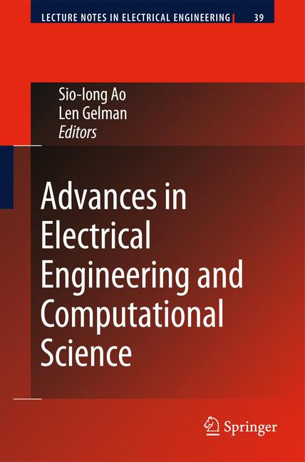 Cover of 'Advances in Electrical Engineering and Computational Science'