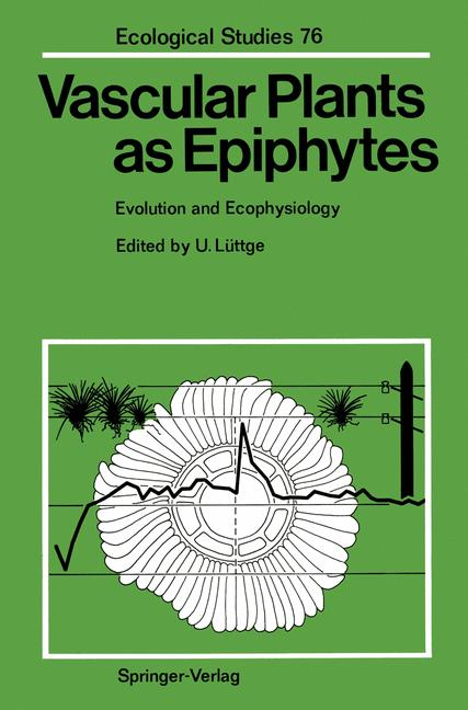 Cover of 'Vascular Plants as Epiphytes'