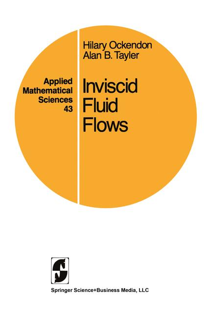 Cover of 'Inviscid fluid flows'