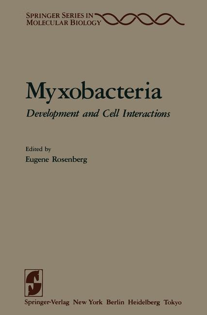 Cover of 'Myxobacteria'