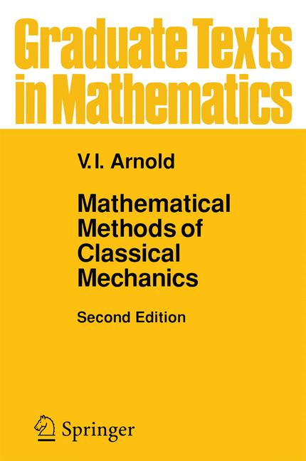 Cover of 'Mathematical Methods of Classical Mechanics'