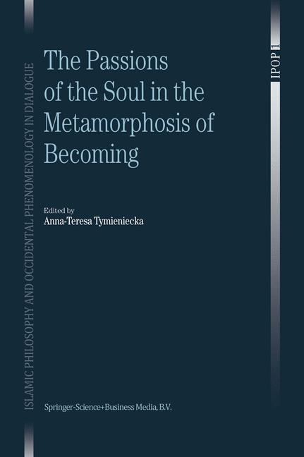 Cover of 'The Passions of the Soul in the Metamorphosis of Becoming'