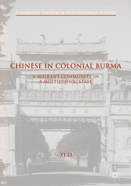 Cover of 'Chinese in Colonial Burma'