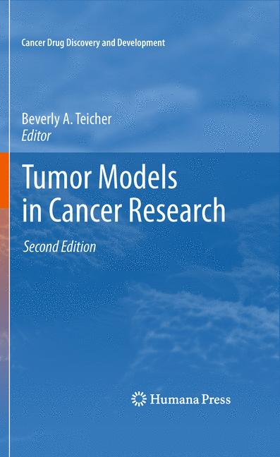Cover of 'Tumor Models in Cancer Research'