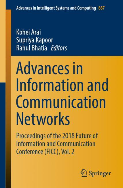 Cover of 'Advances in Information and Communication Networks'