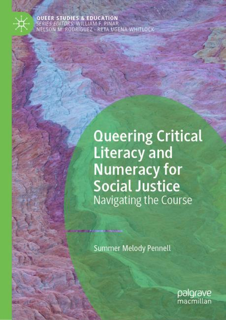 Cover of 'Queering Critical Literacy and Numeracy for Social Justice'