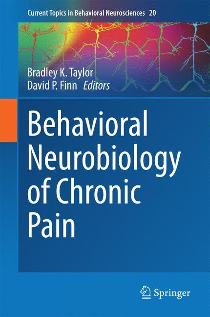 Cover of 'Behavioral Neurobiology of Chronic Pain'