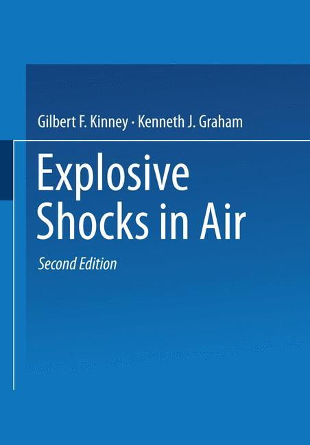 Cover of 'Explosive Shocks in Air'