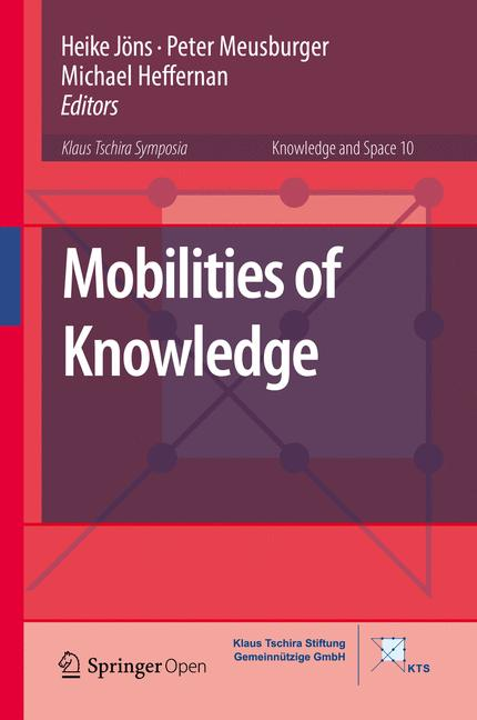Cover of 'Mobilities of Knowledge'