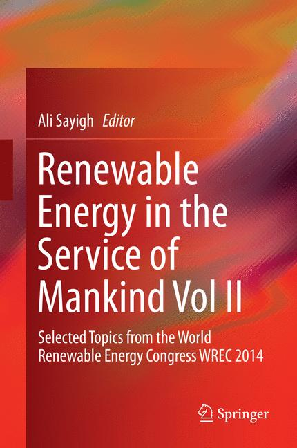 Cover of 'Renewable Energy in the Service of Mankind Vol II'