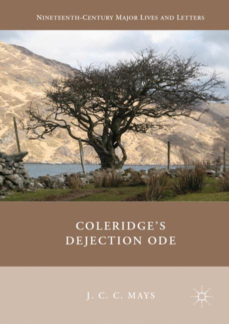 Cover of 'Coleridge's Dejection Ode'