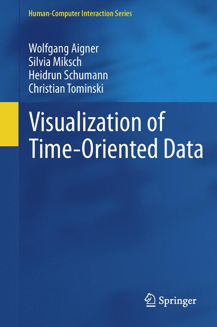 Cover of 'Visualization of Time-Oriented Data'