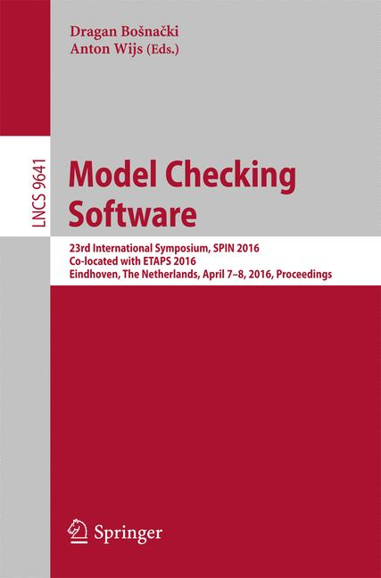 Cover of 'Model Checking Software'