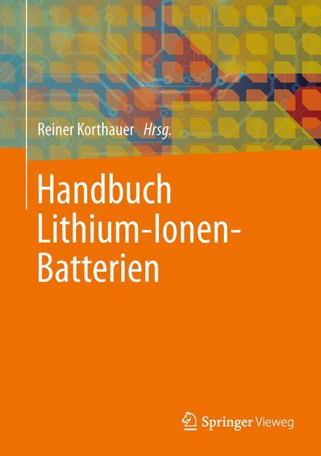 Cover of 'Handbuch Lithium-Ionen-Batterien'
