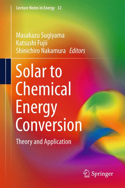 Cover of 'Solar to Chemical Energy Conversion'