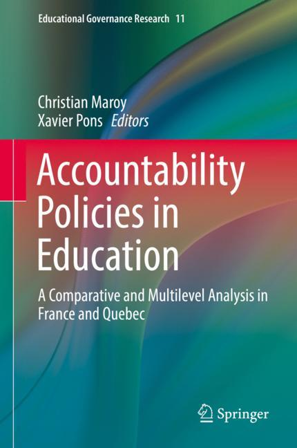 Cover of 'Accountability Policies in Education'