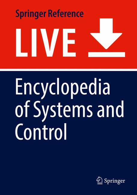 Cover of 'Encyclopedia of Systems and Control'