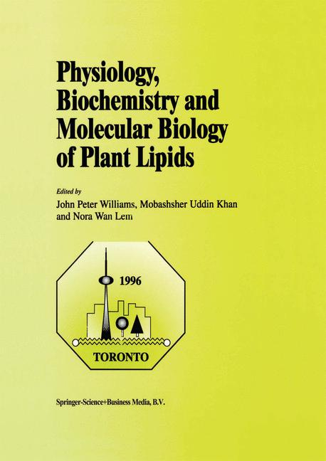 Cover of 'Physiology, Biochemistry and Molecular Biology of Plant Lipids'